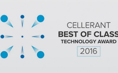 "Vatech's Green CT is Awarded the Cellerant ""Best of Class"" Technology Award, 2016"